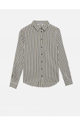 Caractere viscose striped shirt