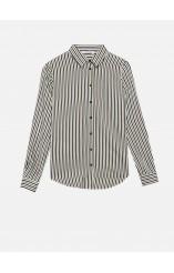 Caractere viscose striped shirt