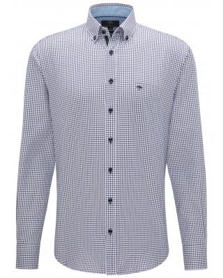 Fynch Hatton navy button down shirt