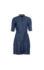 Barbour denim shirt dress