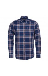 Barbour checked shirt