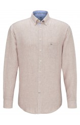 Fynch Hatton beige linen shirt