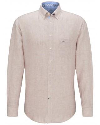 Fynch Hatton beige linen shirt