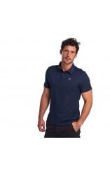 Barbour mercerized cotton polo shirt