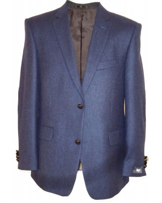 Blue tweed sports jacket
