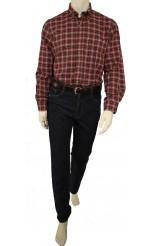 πουκάμισο καρώ κόκκινο Barbour