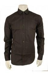 πουκάμισο γκρί σκούρο Burberry