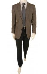 πουκάμισο ριγέ με διπλή μανσέτα Burberry