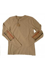 Beige Burberry t-shirt