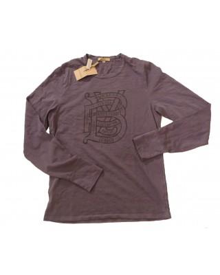 τσαλακωμένο t-shirt Burberry