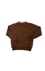 Chocolate striped Forecast sweater