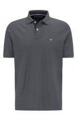 supima cotton grey polo shirt